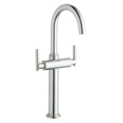 vessel sink faucets brushed nickel. Atrio Single Hole 2 Handle Vessel Bathroom Faucet in Brushed Nickel  InfinityFinish Handles Sold GROHE Sink Faucets The