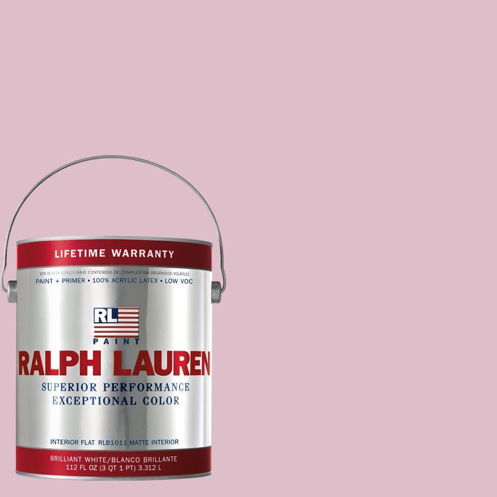 Ralph Lauren 1-gal. Pinafore Pink Flat Interior Paint