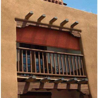 Terracotta Exterior Roller Shade - 48 in. W x 72 in. L