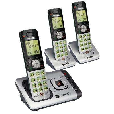3-Handset Cordless Answering System with Caller ID/Call Waiting