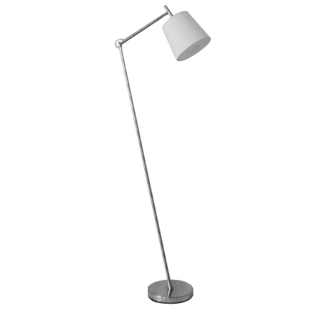 Filament Design Catherine 58 in. Satin Chrome Floor Lamp