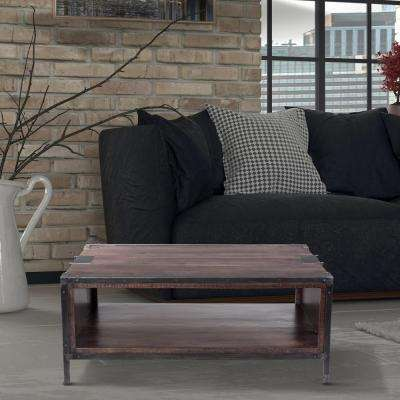 Distressed Natural Coffee Table