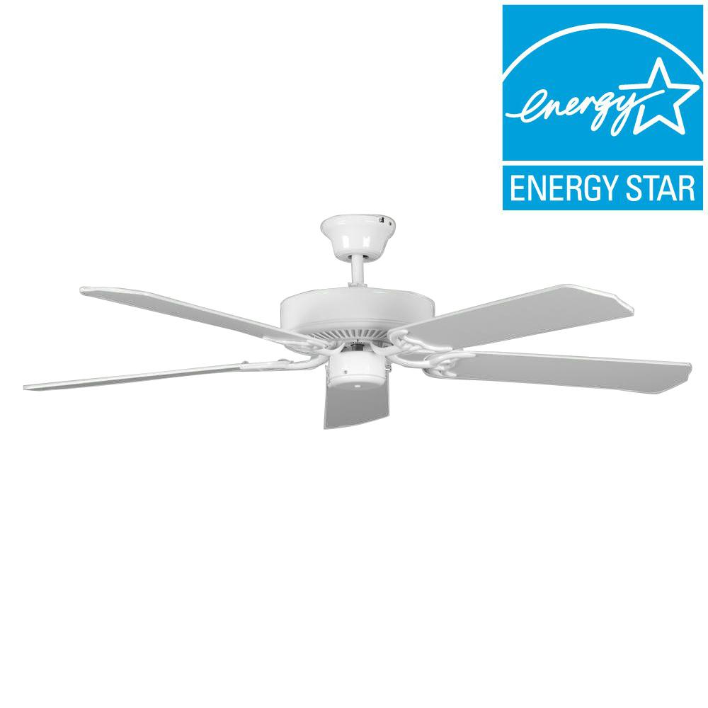 Concord Heritage 52 in. White Ceiling Fan