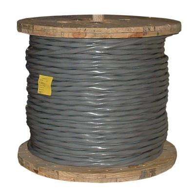 500 ft. 1-1-1-3 Gray Stranded CU SER Cable