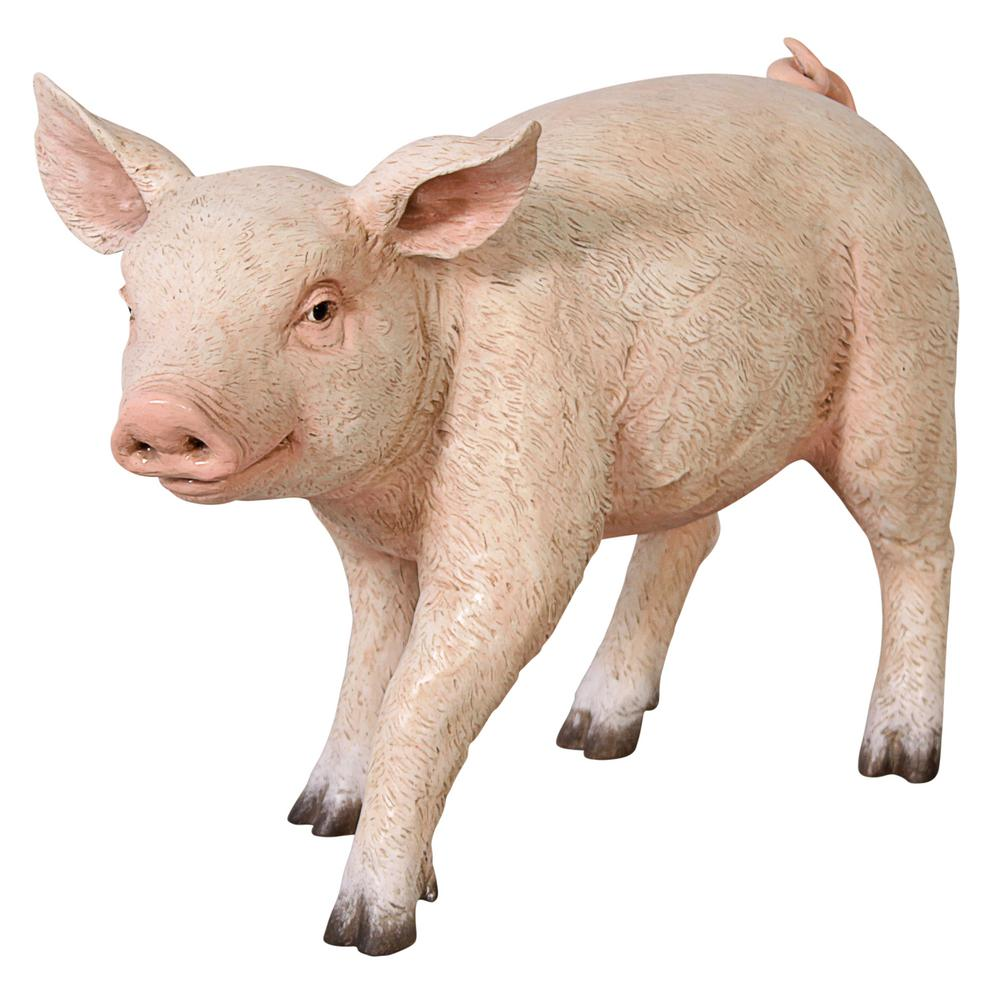 16.5 in. H Piglet Porker Baby Hog Sculpture