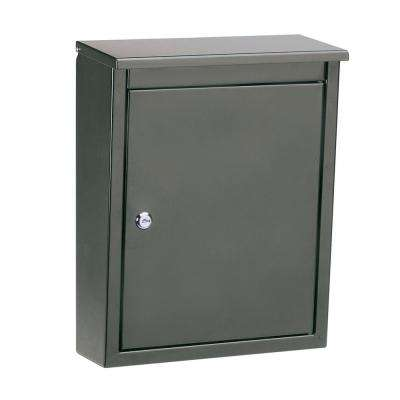 Soho Graphite Bronze Wall-Mount Mailbox
