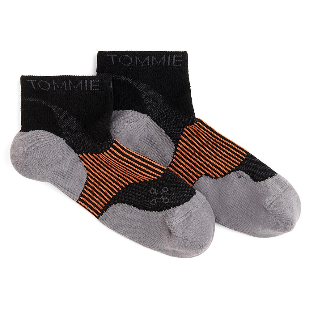 12-14.5 Black Men's Athletic Ankle Sock