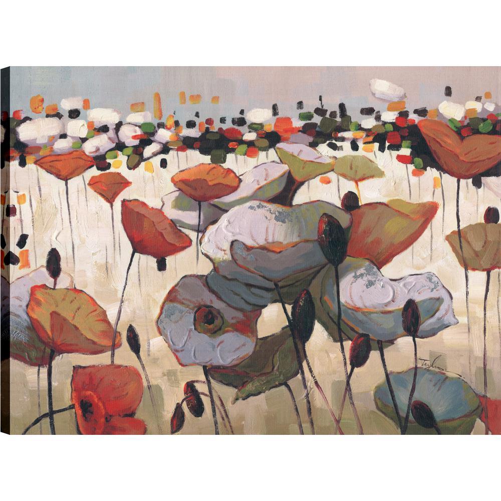 Dessert Flower, Floral Art, Canvas Print Wall Art Dcor 30X40 Ready to hang by ArtMaison.ca