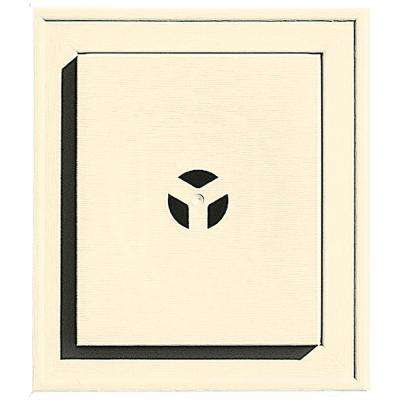 7 in. x 8 in. # 020 Heritage Cream Square Mounting Block