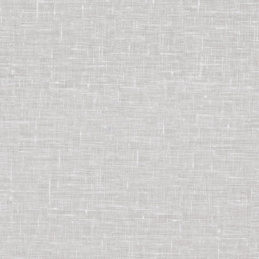 Linge White Linen Texture Wallpaper