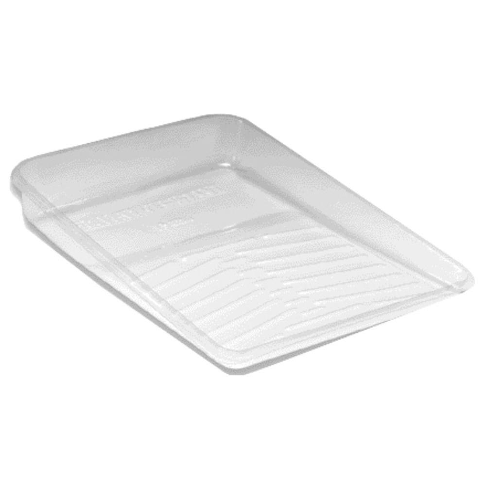 Wooster 11 in. Pro Clear Plastic Deluxe Tray Liner (3-Pack)