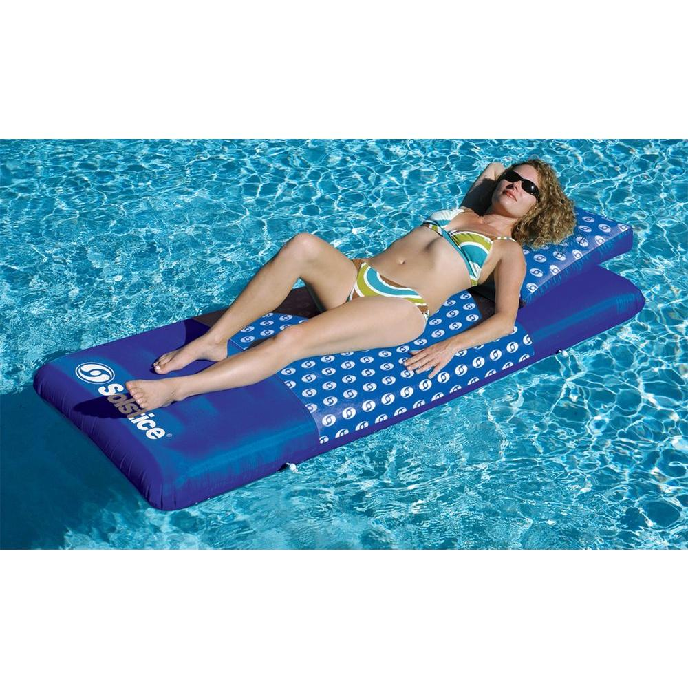 Swimline Designer Mattress Inflatable Floating Lounge