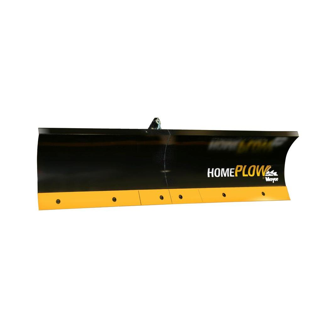 80 in. x 18 in. Residential Auto-Angling Snow Plow with Electric