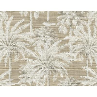 Dream Of Palm Trees Brown Texture Wallpaper Sample