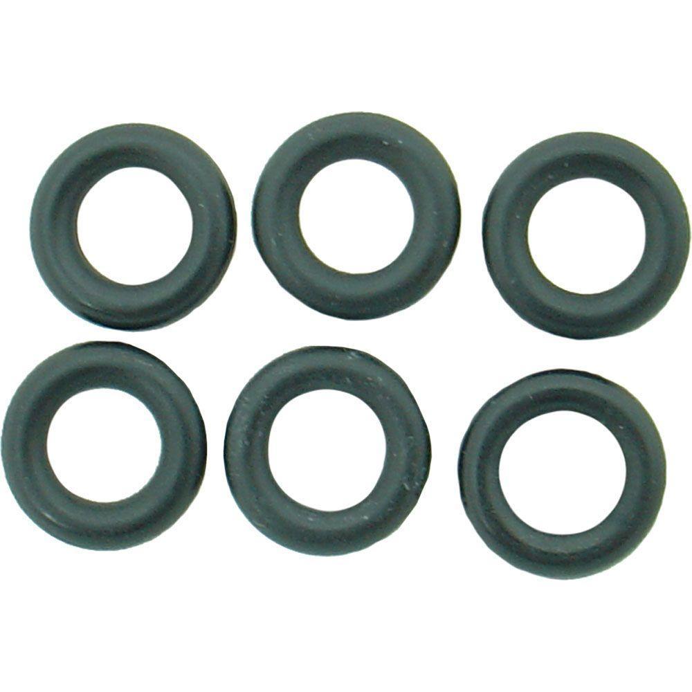 PartsmasterPro 7/16 in. O.D. x 1/4 in. I.D. #278 Rubber O-Ring (6 ...
