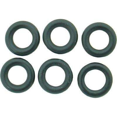 7/16 in. O.D. x 1/4 in. I.D. #278 Rubber O-Ring (6-Pack)