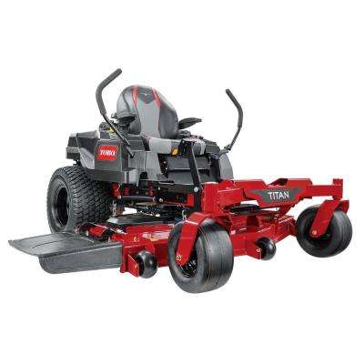TITAN 60 in. IronForged Deck 24.5 HP Commercial V-Twin Gas Dual Hydrostatic Zero Turn Riding Mower