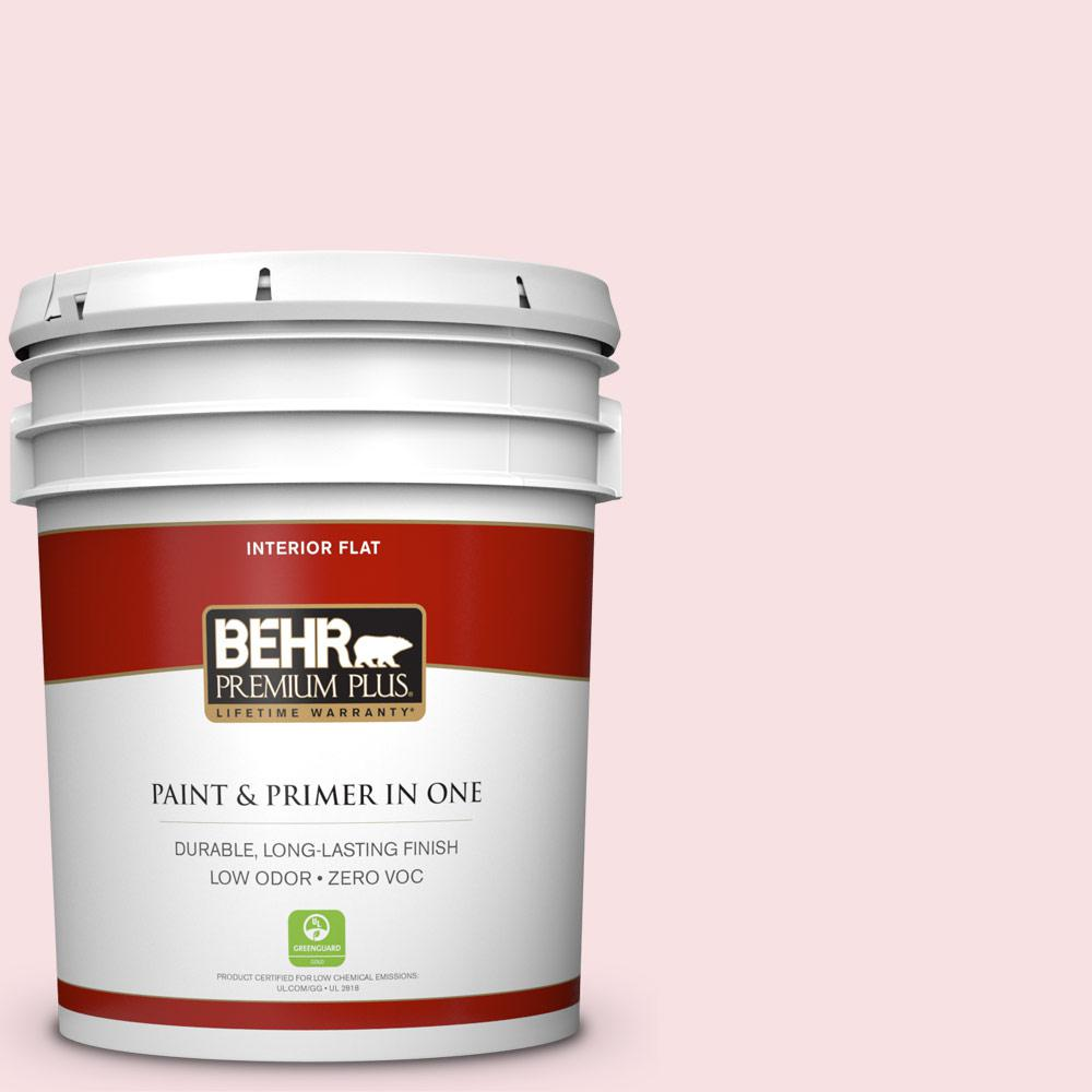 5-gal. #RD-W2 Candy Floss Flat Interior Paint