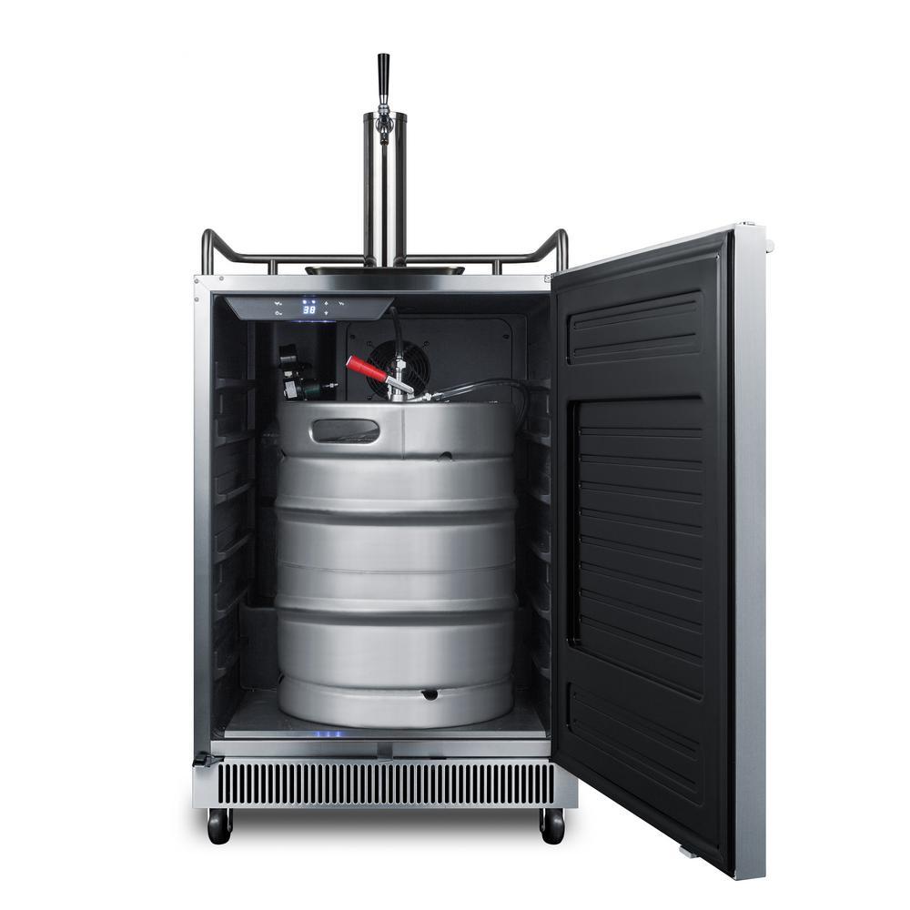 Built-In 1/2 Keg Beer Dispenser