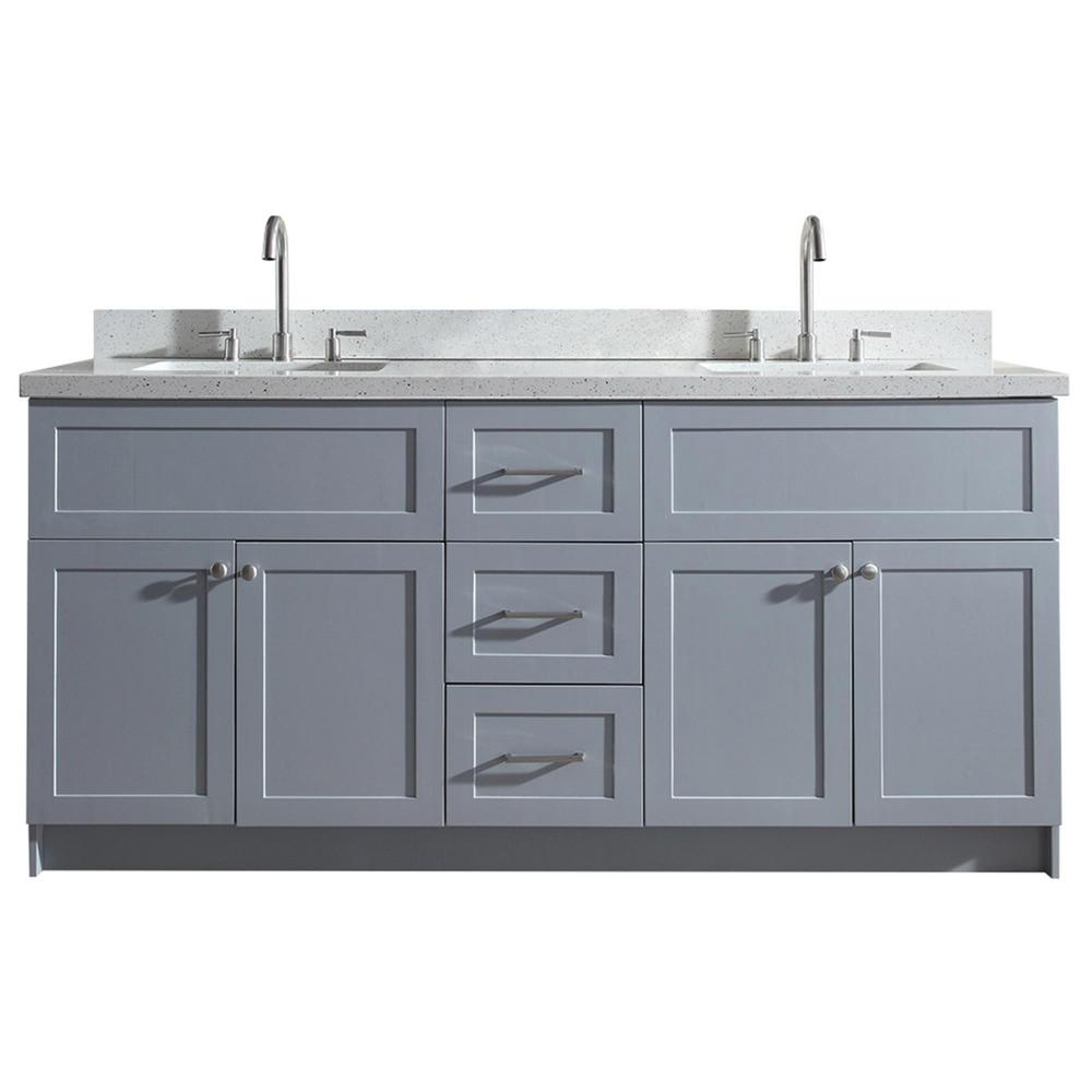 Home Decorators Collection Hanley 23-3/4 in. W x 18 in. D Bath ...