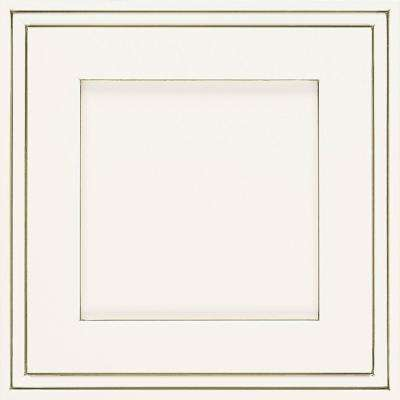 14.5x14.5 in. Daladier Cabinet Door Sample in White Twilight