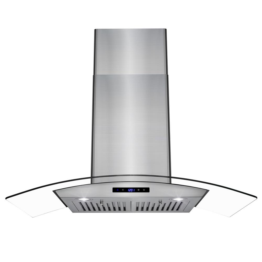 Akdy  In Convertible Kitchen Wall Mount Range Hood