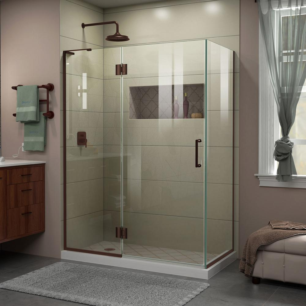 DreamLine Unidoor-X 30 In. X 48-3/8 In. X 72 In. Frameless