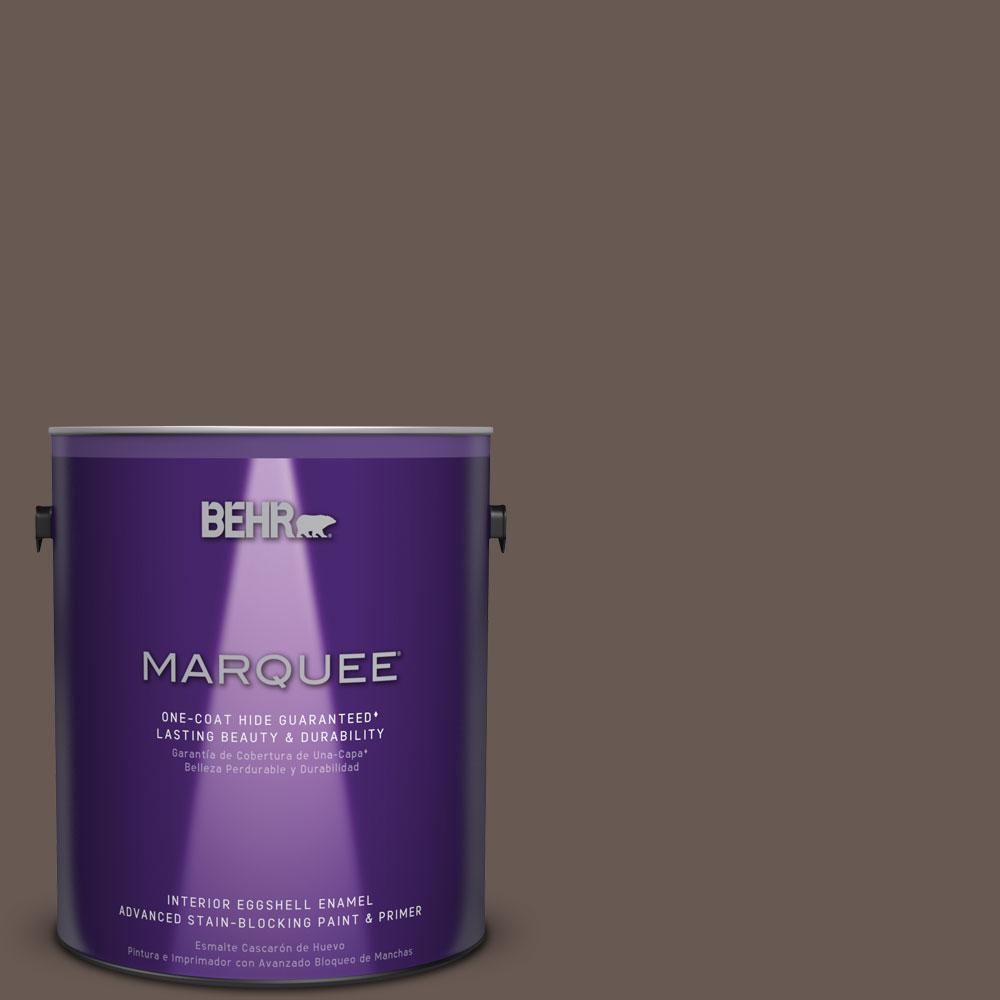 1 gal. #MQ2-44 Museum Eggshell Enamel One-Coat Hide Interior Paint and