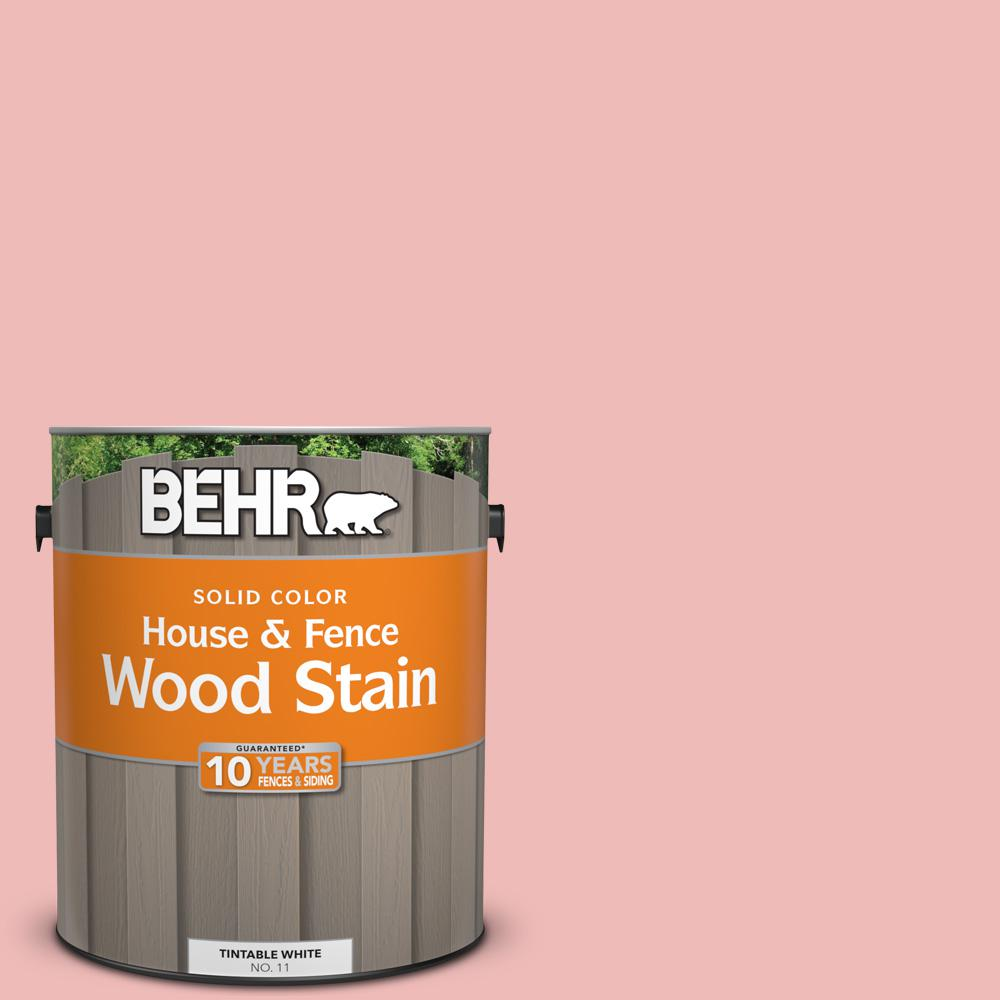BEHR 1 gal. #ECC-60-1 Coral Bay Solid Color House and Fence Exterior ...