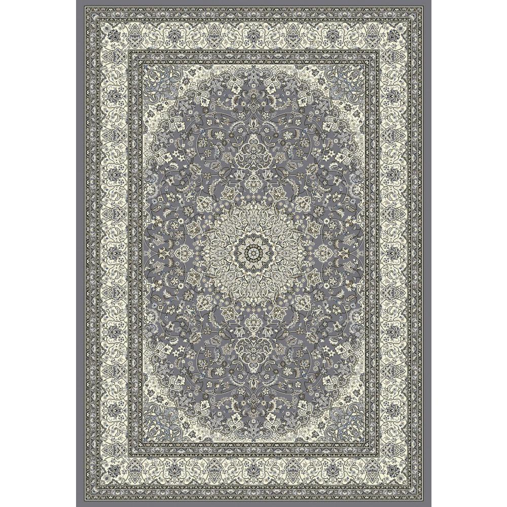 Ancient Garden Grey/Cream 2 ft. x 4 ft. Indoor Area Rug