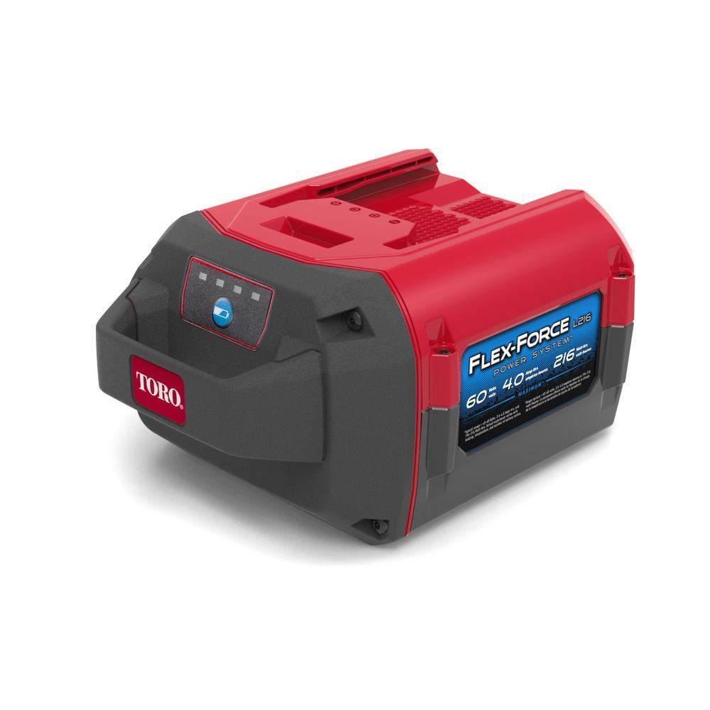 Flex-Force Power System 60-Volt Max 4.0 Ah Lithium-Ion L216 Battery