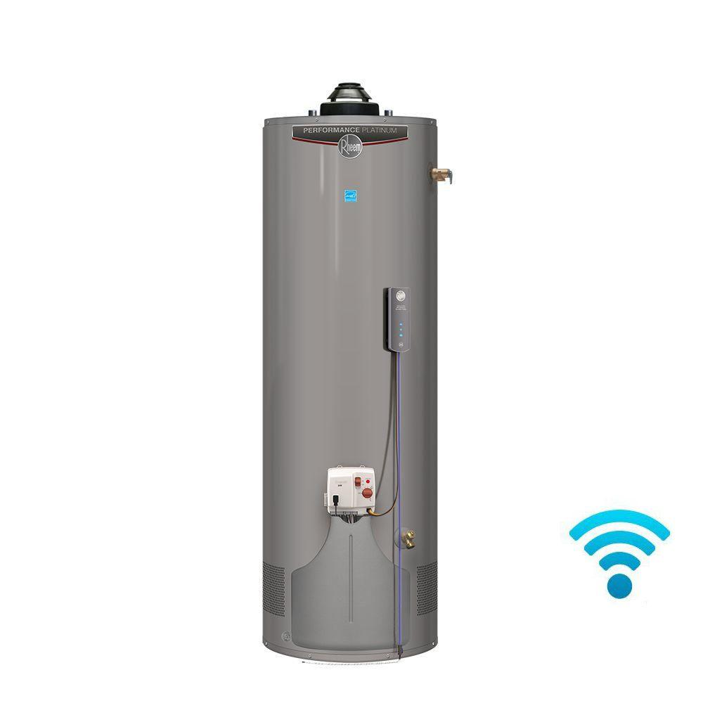 Rheem performance platinum 40 gal tall 12 year 36 000 btu Natural gas water heater