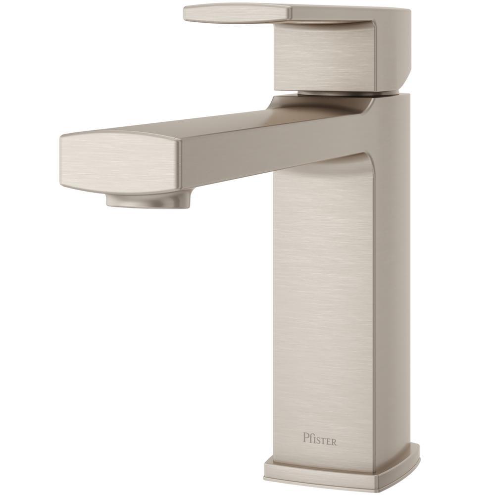 Pfister Deckard Single Handle Deck Mount Roman Tub Faucet In Brushed Nickel Rt6 1dak The Home Depot