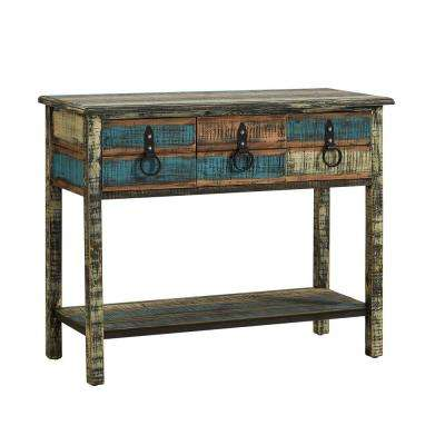 Colorful Calypso Console Table
