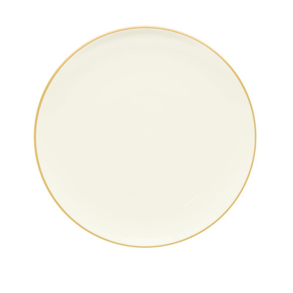 Noritake Colorwave 10.5 in. Mustard Coupe Dinner Plate 8065-406