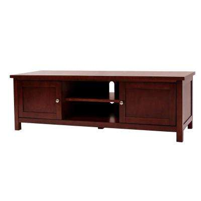 Oakdale Cherry Storage Entertainment Center