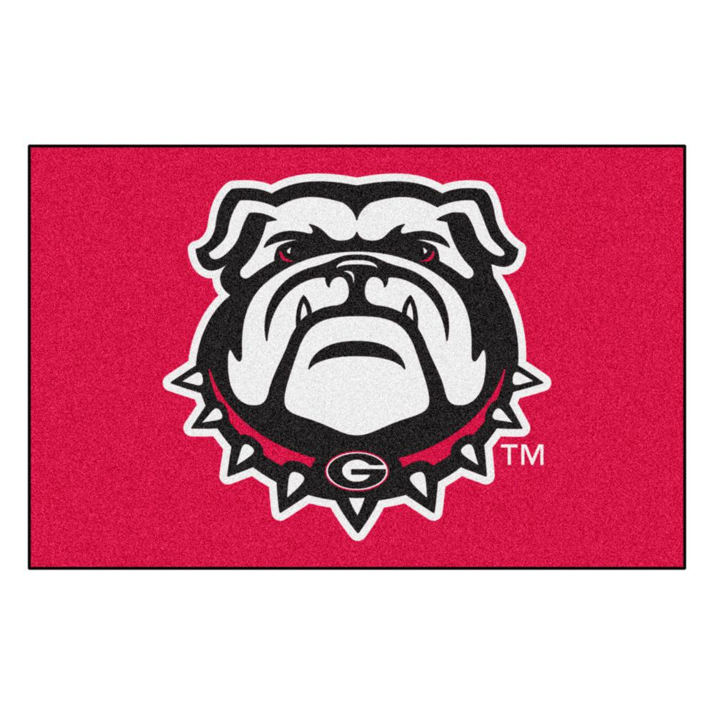 NCAA - University of Georgia Red 1 ft. 7 in. x