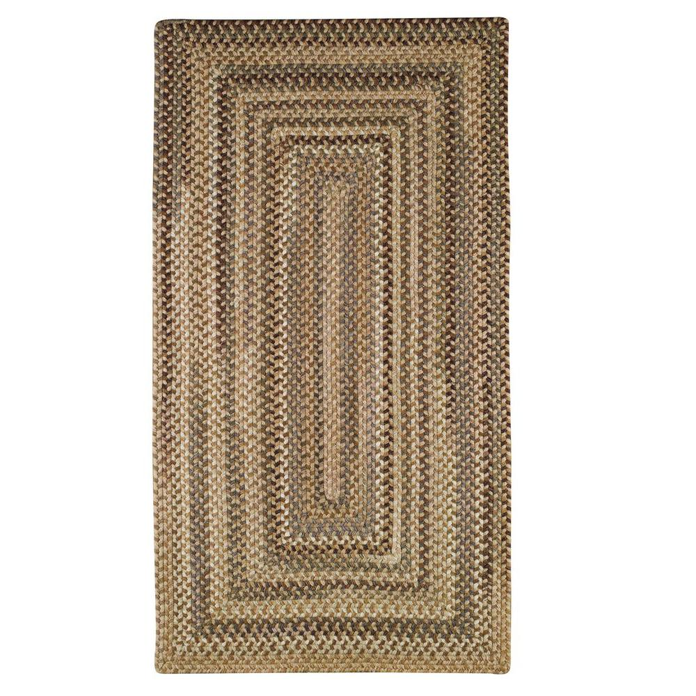 Capel Applause Concentric River Rock 3 ft. x 5 ft. Area Rug