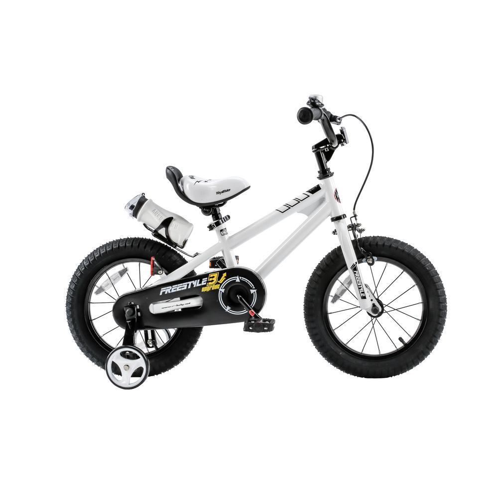 Freestyle BMX 12 in. Kid's Bike in White