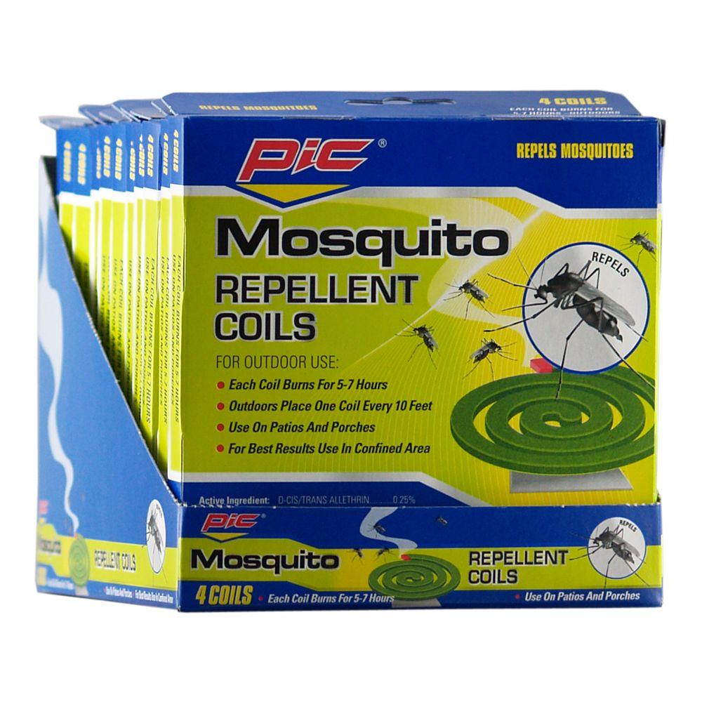 pic mosquito repellent coils 4 pack c 4 36 h the home depot