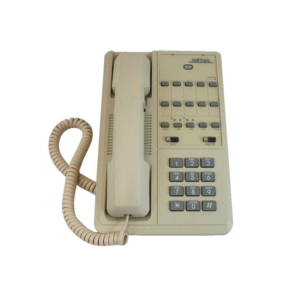 219544-VOE-27S Patriot 2-Line Telephone - Ash
