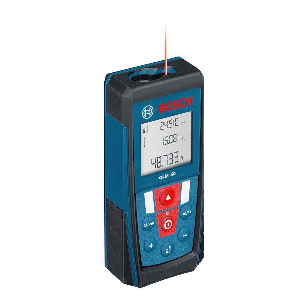 165 ft. (50 m) Laser Distance Measurer