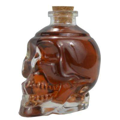 Fill it Up with Wine and Beer or Liquor Glass Skull Decanter