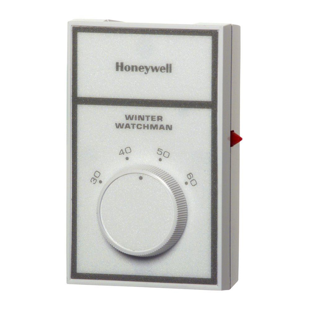 Honeywell Winter Watchman Temperature Signal Cw200a The Home Depot Furnace Ac Wiring