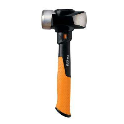 3 lbs. Forged Steel Club Hammer with 11 in. Fiberglass Core Handle