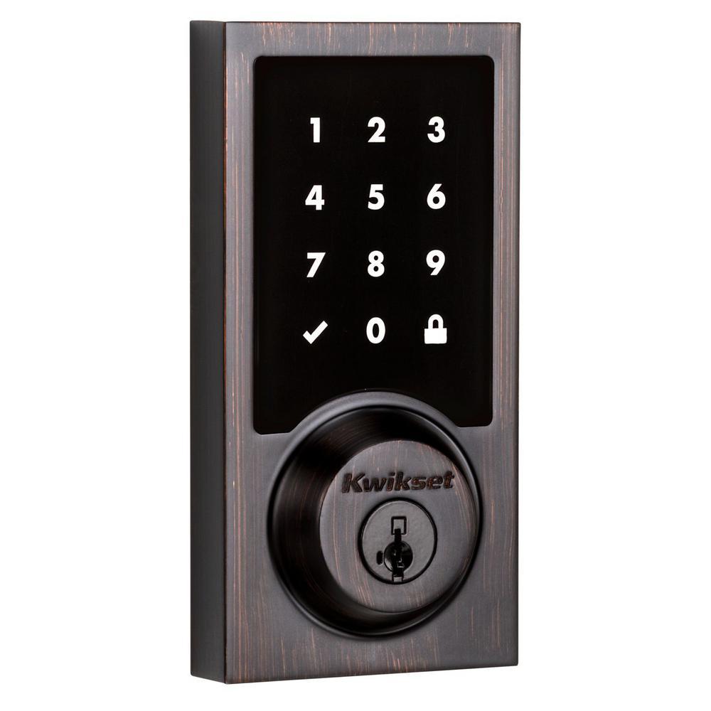 Kwikset Smartcode 915 Touchscreen Contemporary Venetian