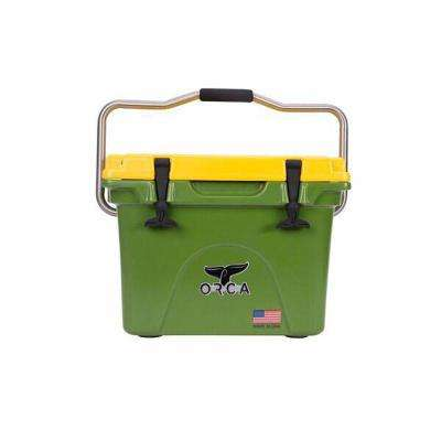 ORCA Green/Yellow 20 Qt. Cooler