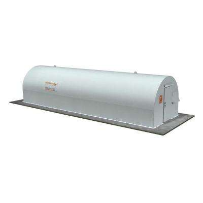 10 ft. x 32 ft. Above-Ground Community Metal Storm Shelter
