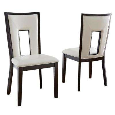 Delano White Side Chair (Set of 2)