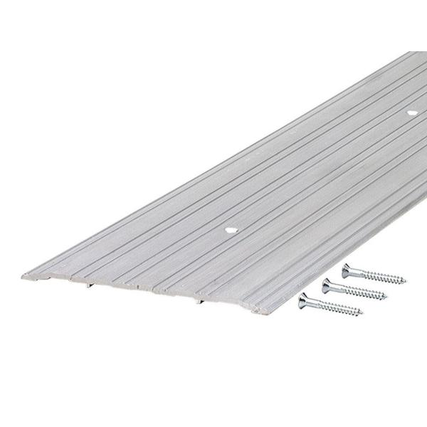 TH043 0.25 in. x 6 in. 72 in. Fluted Saddle Threshold